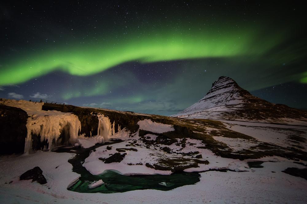 Kirkjufell_Aurora
